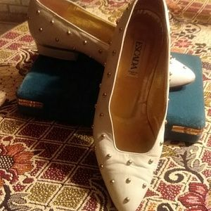 Vintage Escada shoes.